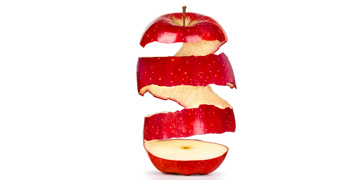 Яблочная кожура препятствует старению и сжигает жир